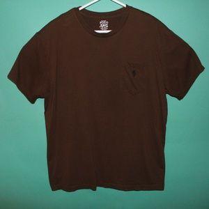 Polo Ralph Lauren Brown Pocket T-Shirt